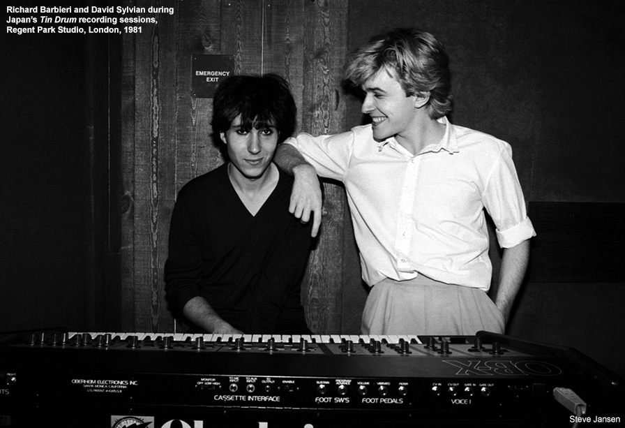 Richard Barbieri David Sylvian Japan