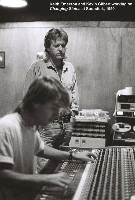 Keith Emerson Kevin Gilbert Soundtek Changing States