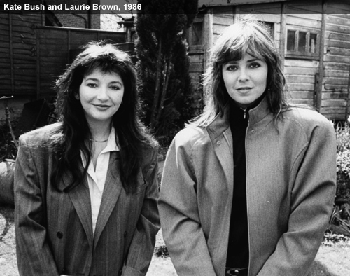 Laurie Brown Kate Bush