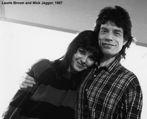 Laurie Brown Mick Jagger