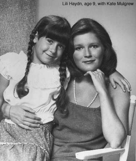 Lili Haydn and Kate Mulgrew