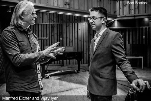 Vijay Iyer and Manfred Eicher