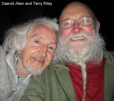 Daevid Allen and Terry Riley