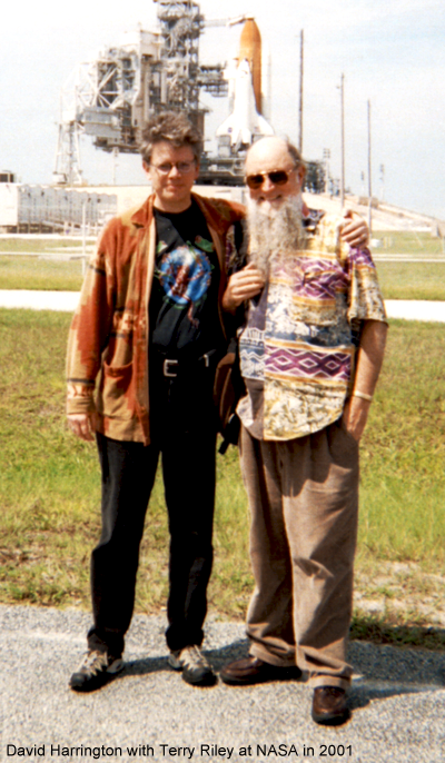 David Harrington and Terry Riley