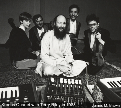 Terry Riley and Kronos Quartet