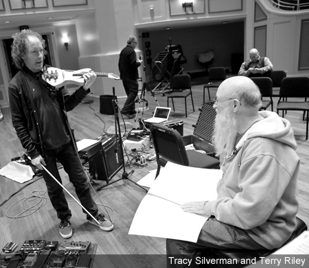 Tracy SIlverman and Terry Riley